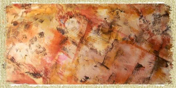 """Quadro """" Colori della terra"""" . Un esperimento di ricerca di colori e degli sfondi che secondo un amico, che tratta di opere d'arte, è un esperienza interessante di pittura o quadri moderni."""